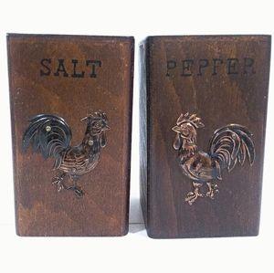 Other - Wooden Salt & Pepper Set